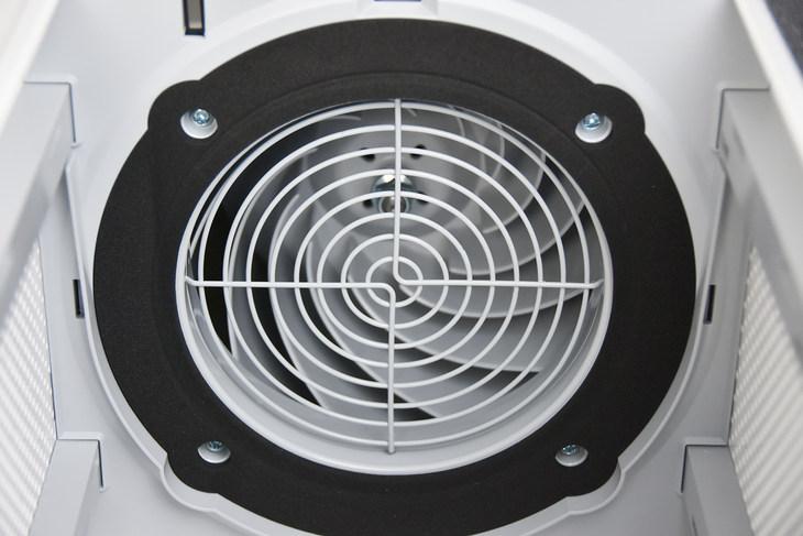 米家空氣淨化器3採用後傾離心風扇